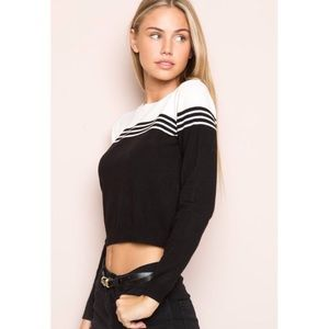Brandy Melville Gracie Cropped Sweater